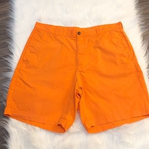 "Brooks Brothers ""346"" Orange Shorts 40"